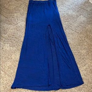 American eagle long skirt with side slit